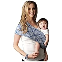 3ff7f690ab1 Seven Everyday Slings Baby Carrier Sling Color Blue Grey Sonic Size 4 Medium  by