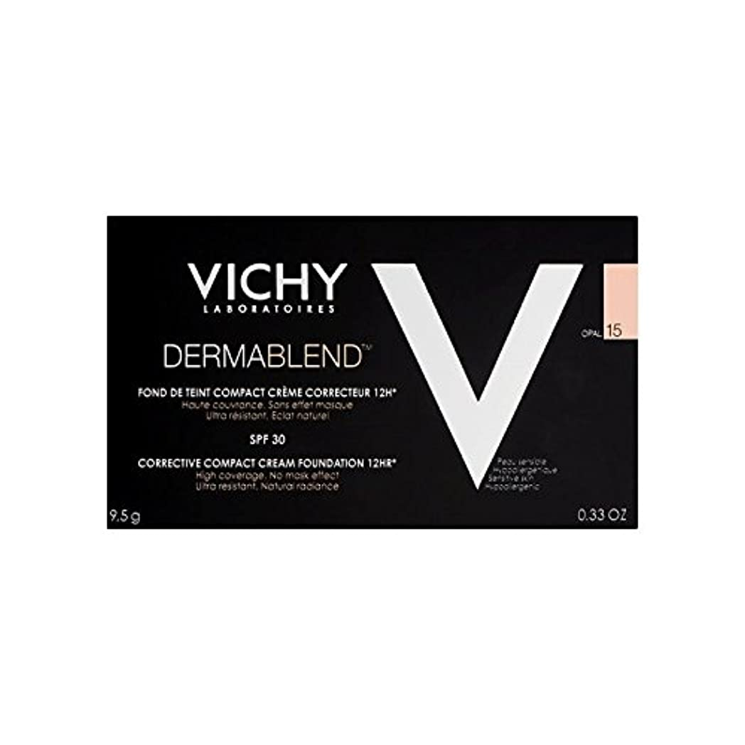 可能性歯科の男性ヴィシー是正コンパクトクリームファンデーションオパール15 x2 - Vichy Dermablend Corrective Compact Cream Foundation Opal 15 (Pack of 2) [並行輸入品]