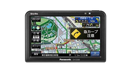 Panasonic (パナソニック) ポータブルカーナビ ゴリラ  ワンセグ SSD16GB バッテリー内蔵 PND 2019年モデル CN-G530D B07QXQNRGY 1枚目