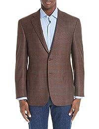 (カナーリ) CANALI メンズ アウター スーツ・ジャケット Classic Fit Windowpane Wool Sport Coat [並行輸入品]