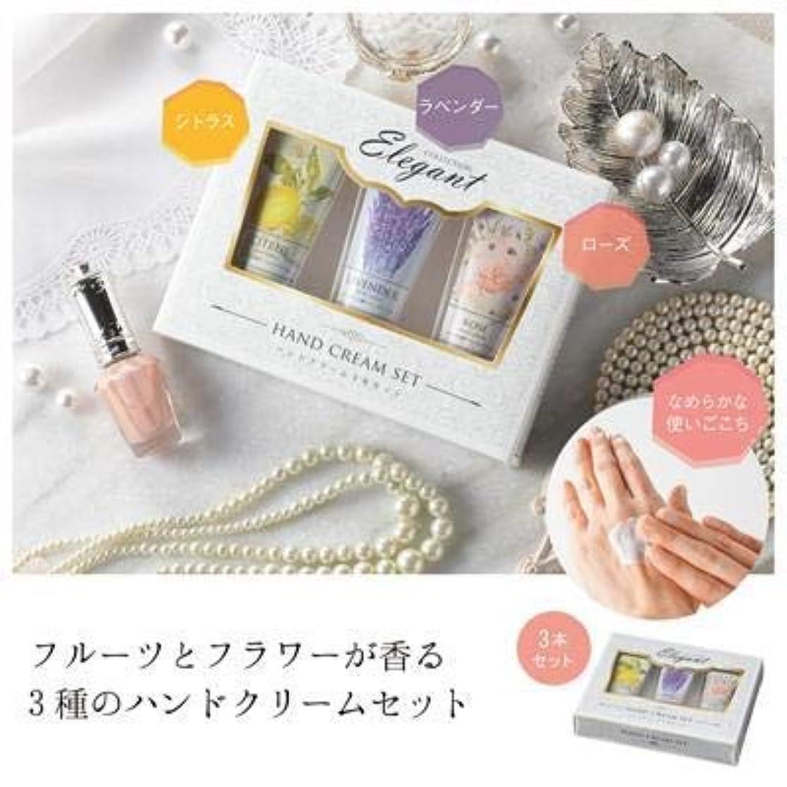 より偏見さておきハンドクリーム3本セット(化粧箱入)【まとめ売り10個セット】