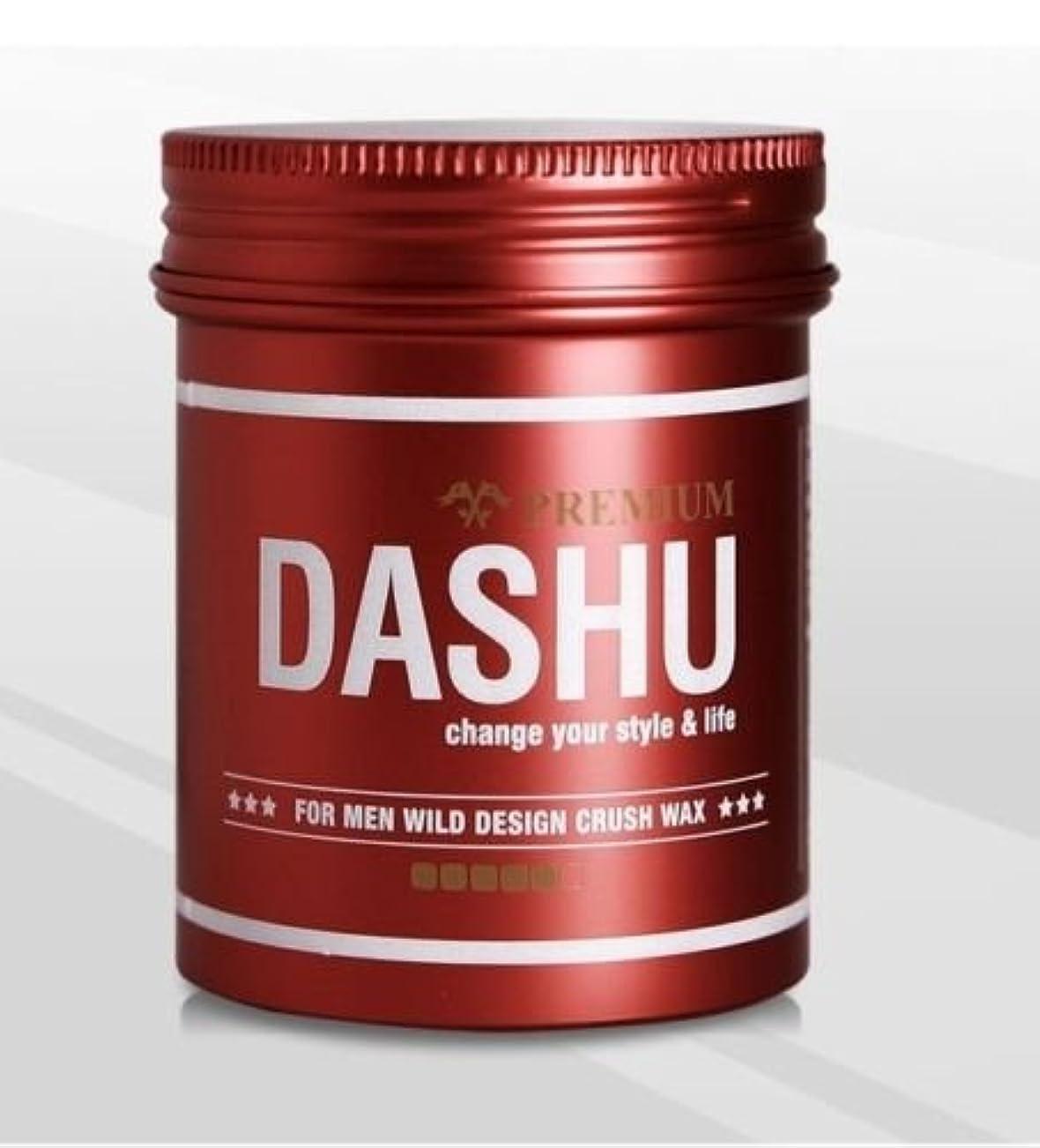 専門知識あいさつ右[DASHU] ダシュ For Men男性用 プレミアムワイルドデザインクラッシュワックス Premium Wild Design Crush Hair Wax 100ml / 韓国製 . 韓国直送品