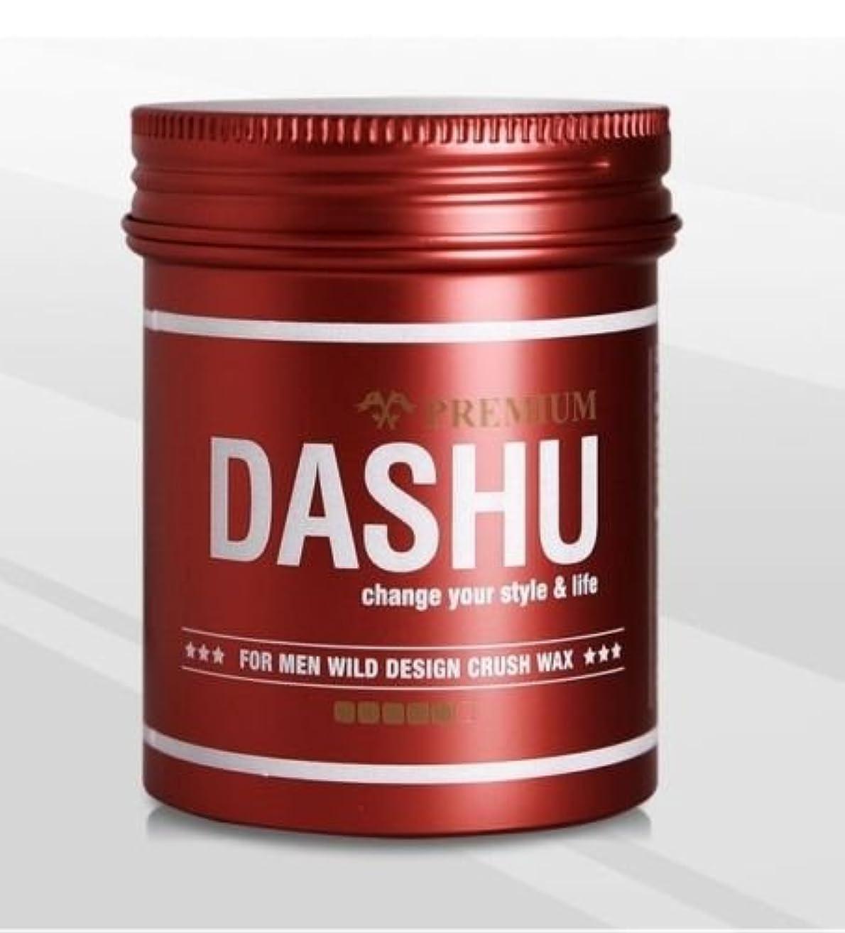 病的地震ハチ[DASHU] ダシュ For Men男性用 プレミアムワイルドデザインクラッシュワックス Premium Wild Design Crush Hair Wax 100ml / 韓国製 . 韓国直送品
