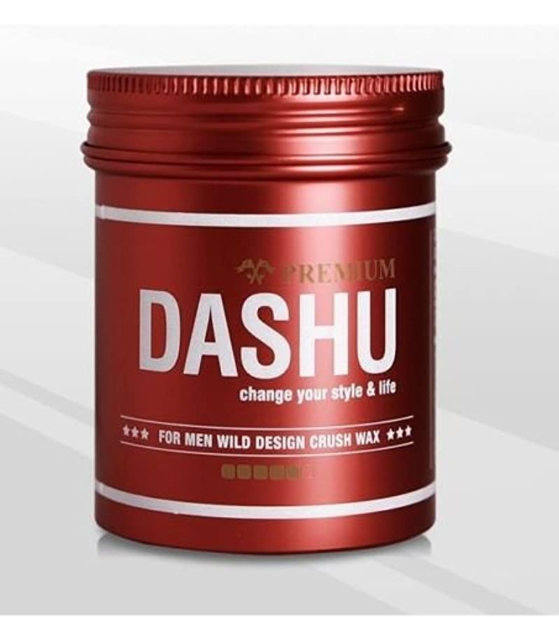 違う農場創造[DASHU] ダシュ For Men男性用 プレミアムワイルドデザインクラッシュワックス Premium Wild Design Crush Hair Wax 100ml / 韓国製 . 韓国直送品