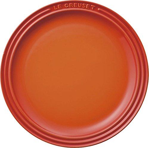 ルクルーゼ ラウンド プレート LC 皿 23cm オレンジ 910140-23-09