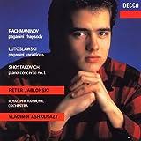 ラフマニノフ:パガニーニの主題による狂詩曲