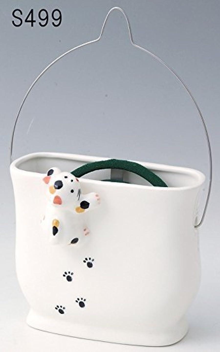蚊遣器 たて型 がんばり猫 s499