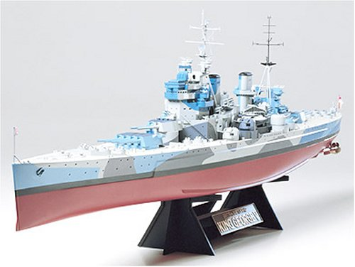 タミヤ 1/350 艦船シリーズ No.10 イギリス海軍 戦艦 キングジョージ5世 プラモデル 78010