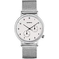 [コモノ]KOMONO メンズ レディース ユニセックス WALTHER 40mm シルバー メッシュ ステンレス KOM-W4020 腕時計[並行輸入品]