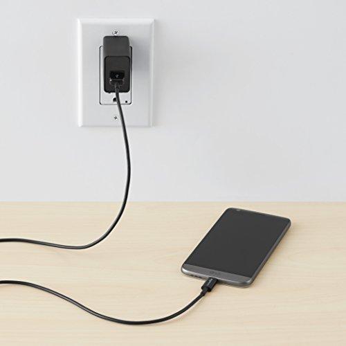 『Amazonベーシック USBケーブル 1.8m (タイプC - 2.0タイプAオス) ブラック』の1枚目の画像