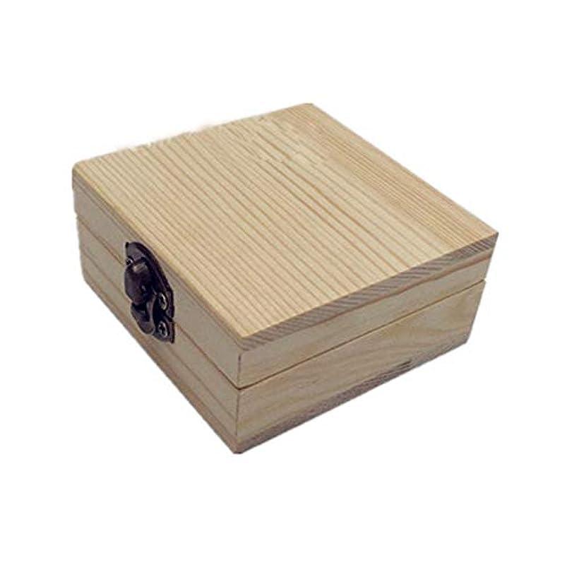 受付重力ジョイントエッセンシャルオイルの保管 木製のエッセンシャルオイルボックスパーフェクトエッセンシャルオイルケースは2本のボトルエッセンシャルオイルのために保持します (色 : Natural, サイズ : 7X7X3.5CM)