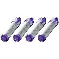 LIXIL(リクシル) INAX オールインワン浄水栓 交換用浄水カートリッジ 12+2物質高除去タイプ 4個入り JF-22-F