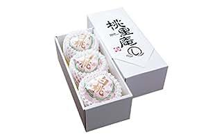 おかやま夢白桃 3玉【大玉】プレミアムギフト
