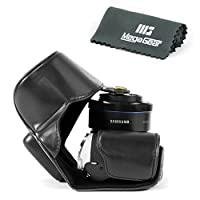 MegaGear 'Ever Ready' Protective Leather Camera Case, Bag for Samsung NX500 with 16-50 mm Compact System Camera [並行輸入品]