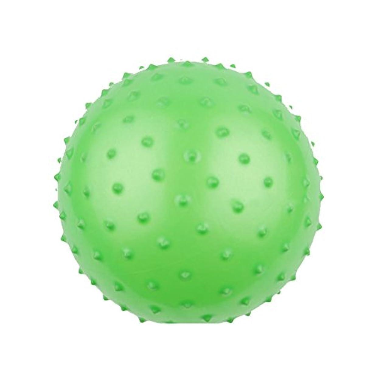 Liebeye 野球ボール 素敵な野球ボールマッサージボールキッズインフレータブルおもちゃのギフト装飾品(ランダムカラー) 28cmマッサージボール