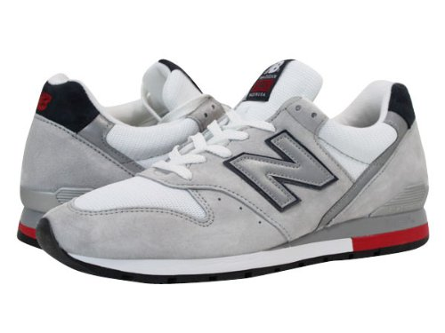 NEW BALANCE M996RRG WHITE/GREY 【MADE IN U.S.A】[並行輸入品]