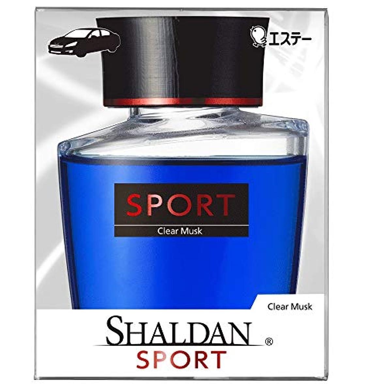 ブランド名狂信者グレートバリアリーフシャルダン SHALDAN SPORT for CAR 芳香剤 クルマ用 クルマ リキッドタイプ クリアムスク 100mL