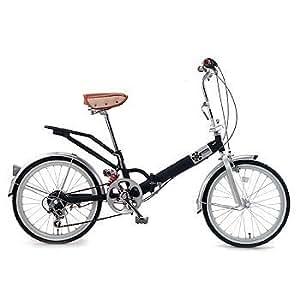 Raychell(レイチェル) 6段変速折り畳み自転車 20インチ VO206 ツヤケシブラック 20インチ VO-206 BK