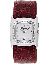 [サルヴァトーレ・フェラガモ]Salvatore Ferragamo 腕時計 ウ゛ァラ ホワイトパール文字盤 F51SBQ9191IS800 レディース 【並行輸入品】