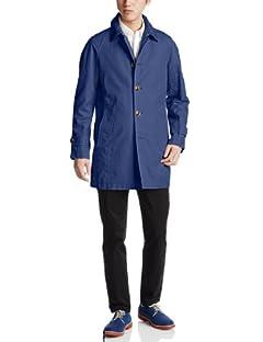 Cotton Linen Dobby Cloth Raglan Coat 3225-139-1725: Royal
