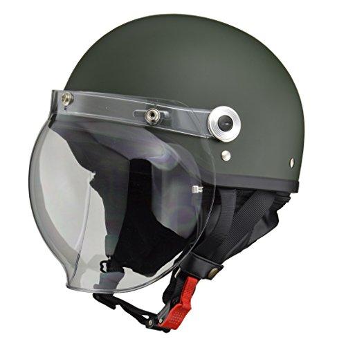 リード工業 バイクヘルメット ジェット CROSS バブルシ...