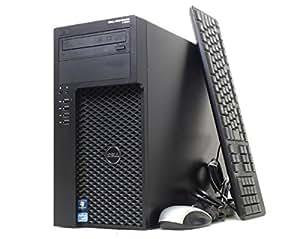 【中古】 DELL Precision T1650 Xeon E3-1240v2/4GB/250G/MULTI/Q600/Win7