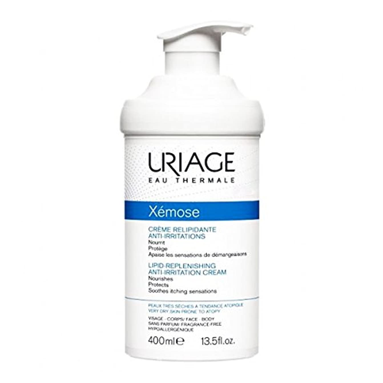 酸素森カーフUriage X駑ose Universal Emollient Cream 400ml [並行輸入品]