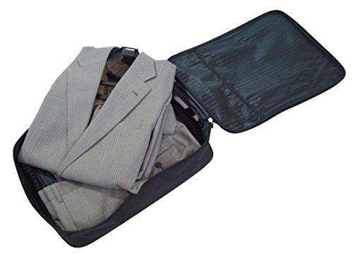 [出張・旅行のスーツ収納に] コンパクト ガーメントケース (ハンガー&ズボン巻き付けボード付き)