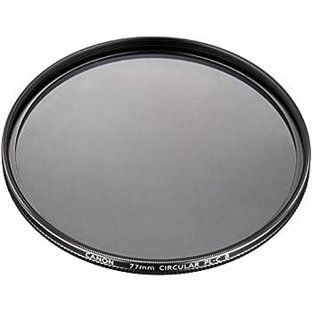 Canon カメラ用円偏光フィルター PL-C B 77mm