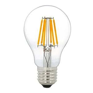 フィラメントLED電球 4W 350lm E26クリアータイプ 従来40W型相当 3000K電球色 気分営造も照明用も適用