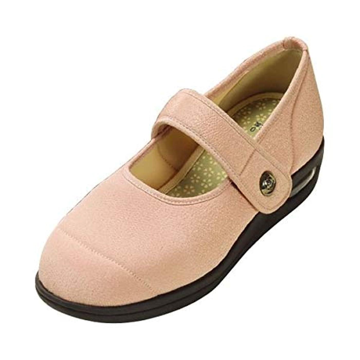 ミントハンカチ排泄するマリアンヌ製靴 彩彩~ちりめん~ W1101 婦人用 /25.0cm さくら