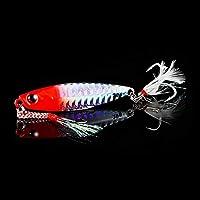 釣りルアージグライトシリコーンベイトウォブラースピナースプーンベイト海氷ミニタックルイカ QingYun Trade (Color : A, サイズ : 7cm 30g)