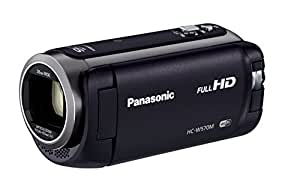 Panasonic HDビデオカメラ W570M ワイプ撮り 90倍ズーム ブラック HC-W570M-K