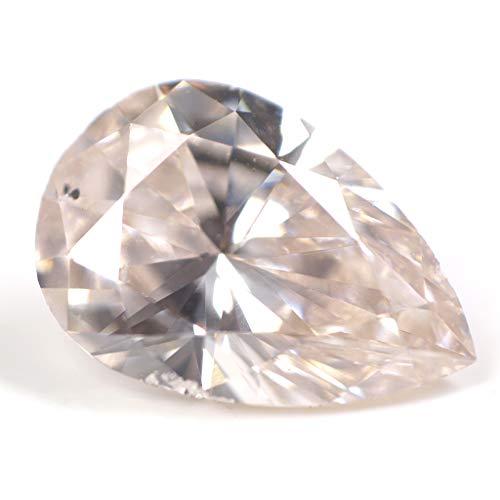 天然ピンクダイヤモンド ルース 0.356ct 【タイプ2-a型のレア・ピンク・ダイヤモンド】 【 中央宝石研究所 】
