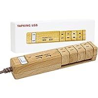 Fargo 木目調を愛する人たちが作り上げた、今まで誰も体験したことのない最高の電源タップ おしゃれ デザイン AC4個口 2.4A USB 急速充電