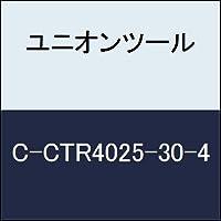 ユニオンツール 超硬エンドミル テーパ φ2.5×刃長30×片角 2°CCTR4025304