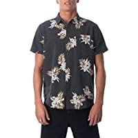 Rip Curl Men's ATOLLED S/S Shirt, Washed Black