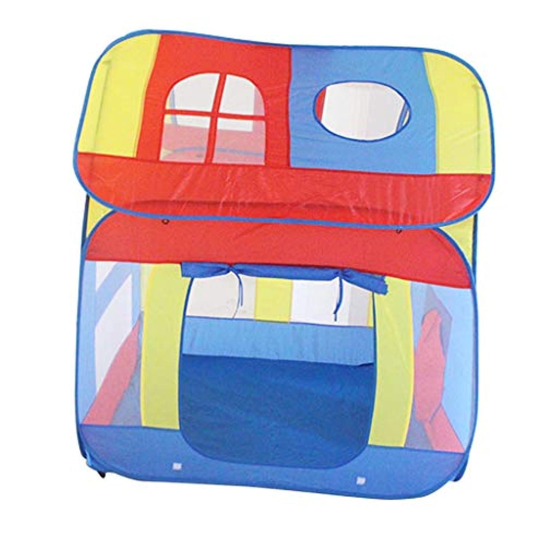 F Fityle ハウス形 折り畳み 室内/室外 子供 幼児 ボールピットテント キッズテント