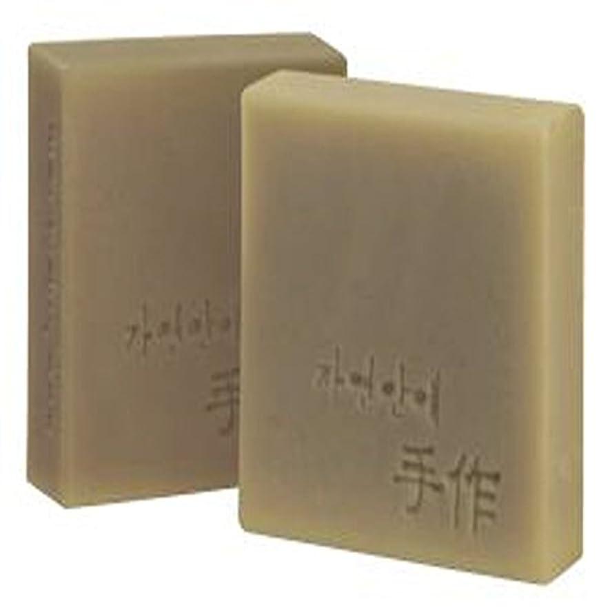 悲惨なチーズ同化するNatural organic 有機天然ソープ 固形 無添加 洗顔せっけんクレンジング [並行輸入品] (何首烏)