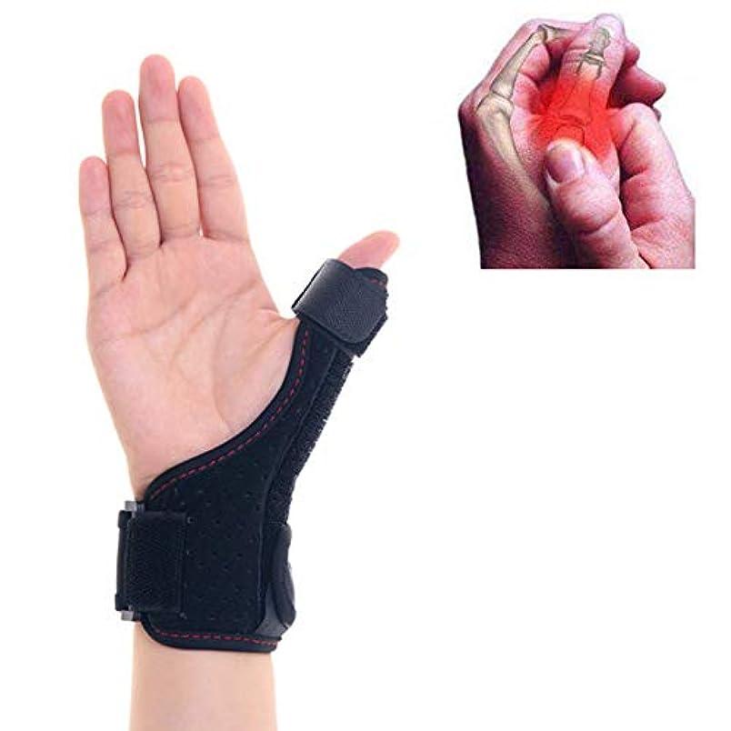骨満足不機嫌そうな腱鞘炎、腱炎、親指親指スピカ、手根管-1Pcsのために固定された医療用親指添え木手首の捻Sp骨折