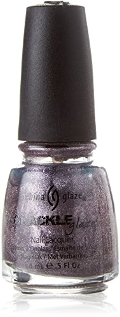 負大脳要求するCHINA GLAZE Crackle Metals Latticed Lilac (並行輸入品)