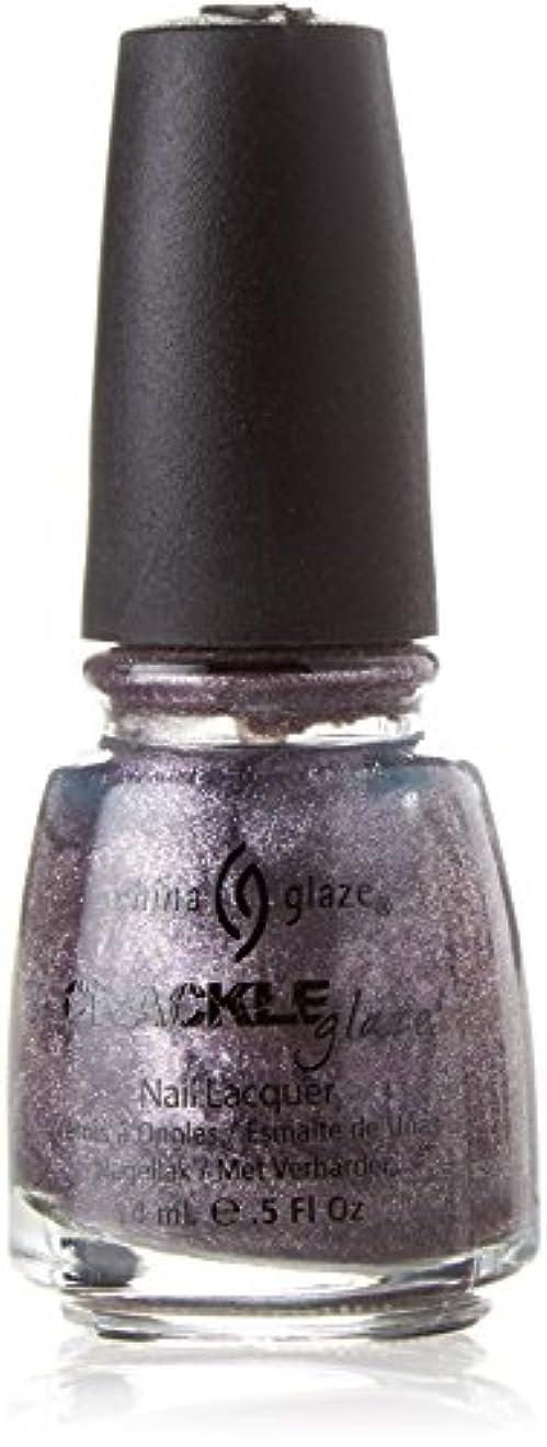 強度調整遺伝的CHINA GLAZE Crackle Metals Latticed Lilac (並行輸入品)