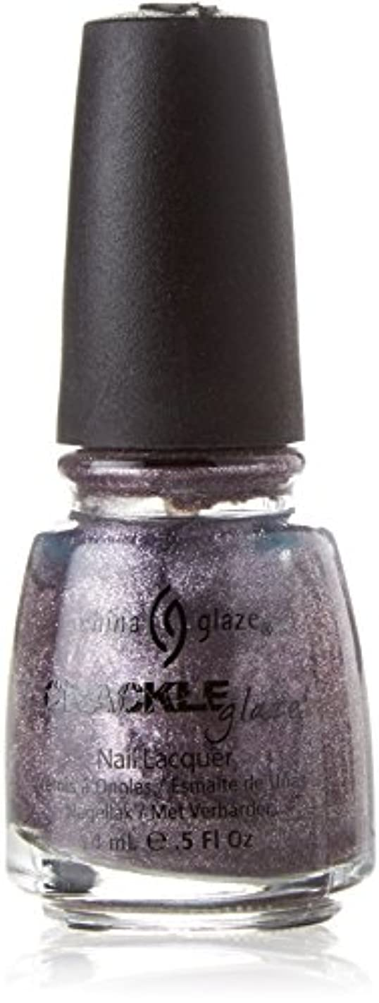 複雑モーターペフCHINA GLAZE Crackle Metals Latticed Lilac (並行輸入品)