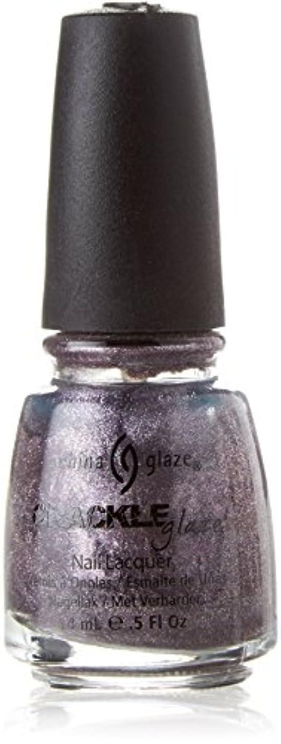 狂った多年生条約CHINA GLAZE Crackle Metals Latticed Lilac (並行輸入品)
