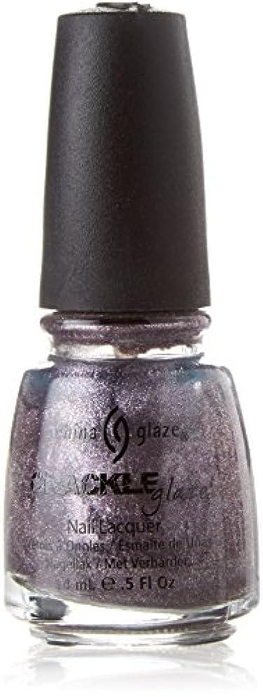 ベルベットアジア南アメリカCHINA GLAZE Crackle Metals Latticed Lilac (並行輸入品)