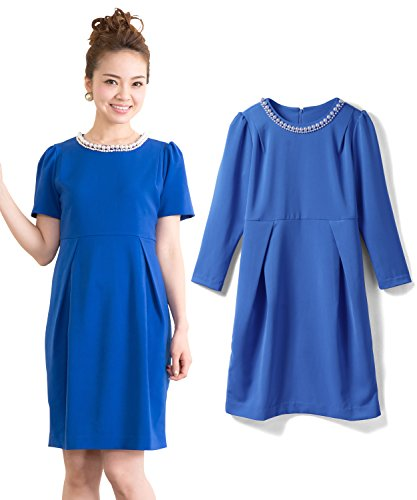 Sweet Mommy Maternity large size small size of nursing with clothes dress pearl Bijou with nursing opening Sleeve choose shrine dress formal wedding after-party party Spring Summer Autumn Winter maternity