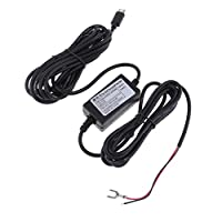 Perfk ハードワイヤー オートチャージャー マイクロ USB 3.5m  DC 12V〜5V パワー インバーター コンバータ