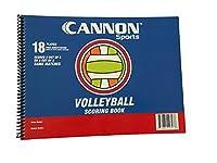 CSI Cannon sportscannonスポーツバレーボールScorebook
