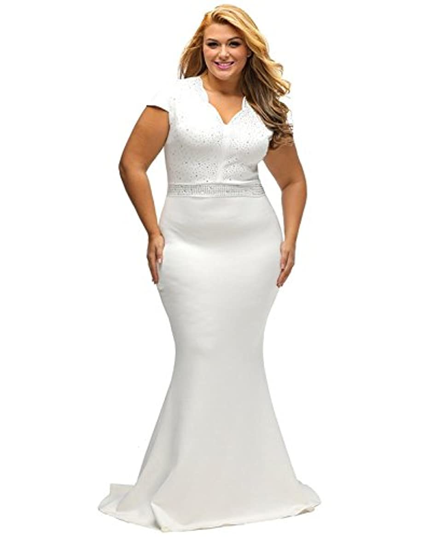 最大化する彼女は小説家XAKALAKA DRESS US サイズ: XL カラー: ホワイト