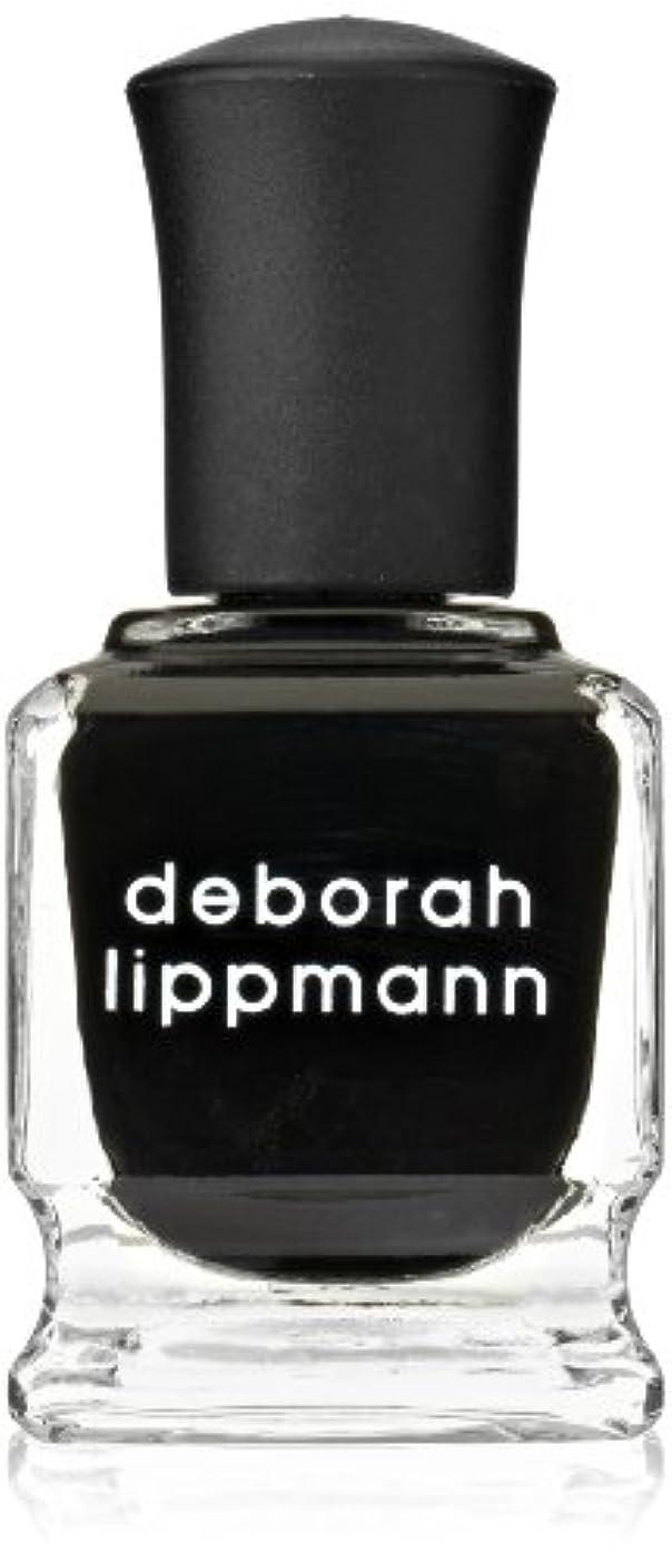 香水人生を作るデッキ[Deborah Lippmann] デボラリップマン フェイド トゥ ブラック FADE TO BLACK マットなブラック。 発色よく透けずにしっかり色付きます カッコイイ、インパクトのあるネイルポリッシュです 容量...